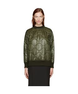 Hyke   Quilted Nylon Pullover