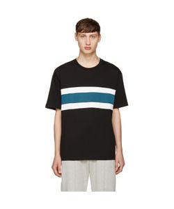 Ami Alexandre Mattiussi | Panelled Stripe T-Shirt