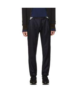 Giuliano Fujiwara | Wool Loose Trousers