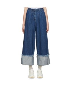 Edit | Denim Turn Up Culottes
