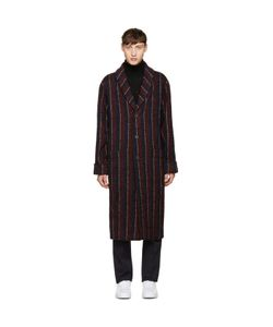 M.R. Editions | Long Striped Coat