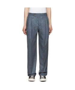 M.R. Editions | Pleated Wool Trousers