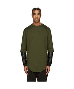 Pyer Moss | Layered Sleeves Pullover