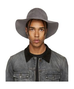 Diet Butcher Slim Skin | Felt Wide Brim Hat
