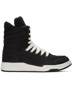 Diet Butcher Slim Skin | Suede Zip High-Top Sneakers