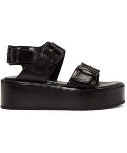 Ann Demeulemeester | Buckle Platform Sandals