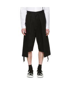 D.Gnak By Kang.D   Twill Long Laye Shorts