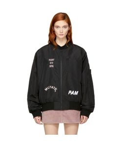 Perks And Mini | Exclusive Hard Synth Embroidered Ma-1 Bomber