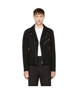 Neil Barrett | Raw Cut Wool Biker Jacket