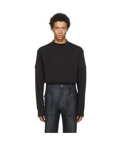 Helmut Lang | Long Sleeve Military Cocoon Vienna T-Shirt