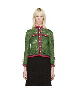 Gucci | Lace Ribbon Jacket
