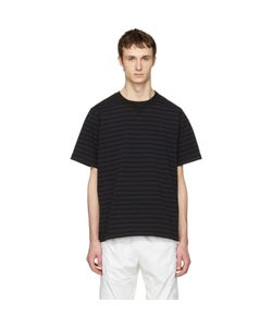 Sacai | Striped Dixie Border T-Shirt