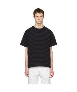 Sacai   Striped Dixie Border T-Shirt