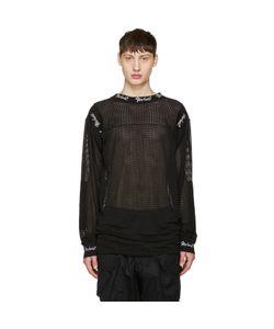 Ktz   Embroide Mesh Pullover