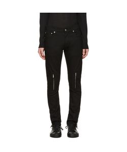 Alexander McQueen | Leather Pockets Jeans