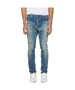Balmain | Distressed Low-Rise Jeans