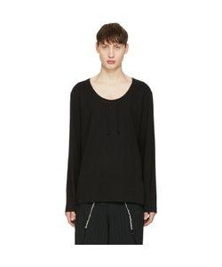 COMME DES GARCONS HOMME PLUS | Comme Des Garçons Homme Plus Drawstring Long Sleeve T-Shirt