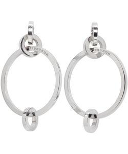 Ribeyron | 4 Circle Earrings
