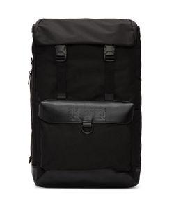 Ktz   Leather Flap Backpack