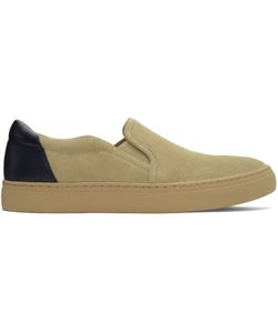 Tiger Of Sweden | Suede Andover B Slip-On Sneakers