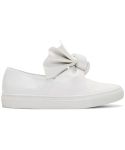 Cedric Charlier | Bow Slip-On Sneakers