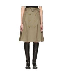 Junya Watanabe   Double Button Skirt