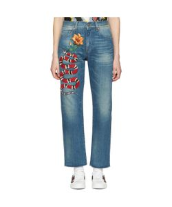 Gucci | Snake And Flower Jeans