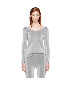 ROSETTA GETTY | Split Neck Pullover