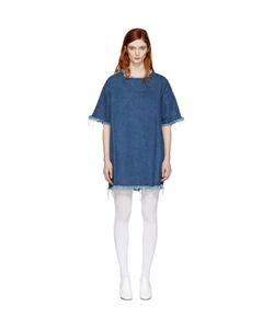 Marques Almeida   Denim T-Shirt Dress