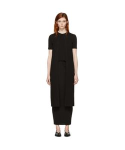 ROSETTA GETTY | Long Split Panel T-Shirt