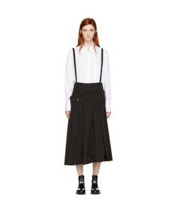 Ys | Long Suspender Skirt