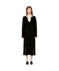 ROSETTA GETTY | Cashmere Slit Front Sweater Dress