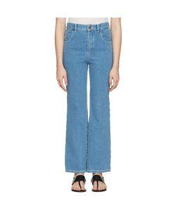 Chloe | Chloé Scalloped Fla Jeans