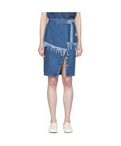 SJYP | Denim Frayed Skirt