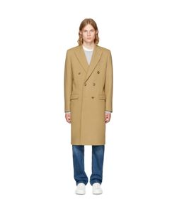 Éditions M.R | Double Breasted Wool Overcoat