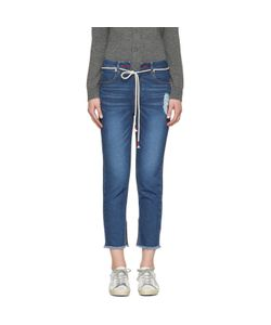 SJYP | Cut-Off String Jeans