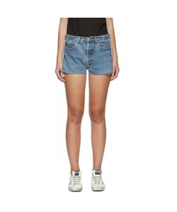 RE-DONE | Two-Tone Denim Shorts