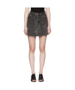 RE-DONE | Denim High-Rise Miniskirt