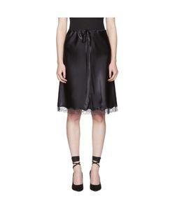Nina Ricci | Lace Satin Slip Skirt