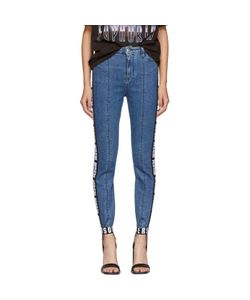 MSGM | Logo Tape Stirrup Jeans