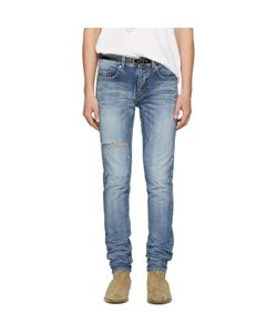 Saint Laurent | Ripped Low-Waisted Skinny Jeans