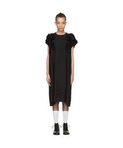 Tricot Comme des Garçons | Embroidery Ruffle Dress