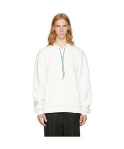 Alexander Wang | Fleece Classic Bolo Tie Hoodie