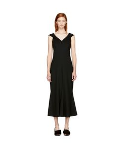 ROSETTA GETTY | Split Neck Flared Dress