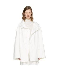 Ys | Denim Wide Lapel Coat