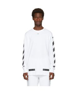 OFF-WHITE | Diagonal Brushed T-Shirt