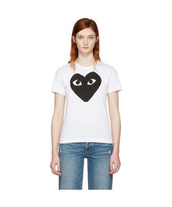 Comme des Gar ons Play | And Heart T-Shirt