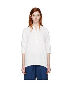 Blue Blue Japan | Stand Collar Blouse