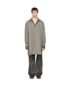 Lanvin | Wool Glen Check Coat