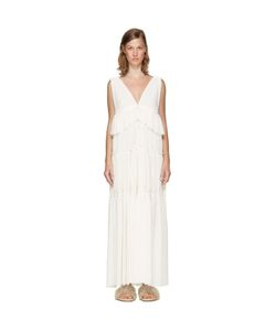 See By Chloe | See By Chloé Long Gauze Jersey Dress